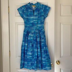 Bernie Dexter pinup style Kelly dress size SM EUC